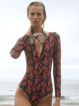 VERDELIMON Paradiso Printed L/s One Piece Swimsuit