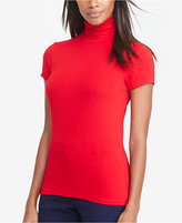 Lauren Ralph Lauren Short-Sleeve Turtleneck