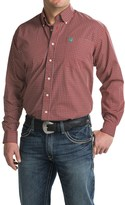 Cinch Button-Up Woven Shirt - Long Sleeve (For Men)