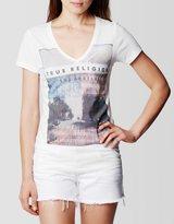 True Religion July 4th Vneck Womens T-Shirt