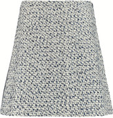 Tory Burch Lucille silk-blend jacquard mini skirt