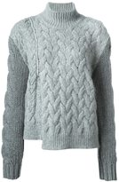 Stella McCartney chunky turtle neck jumper - women - Polyamide/Mohair/Wool/Virgin Wool - 40
