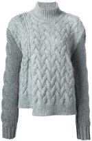 Stella McCartney chunky turtle neck jumper - women - Wool/Polyamide/Mohair/Virgin Wool - 40