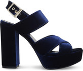 Carvela Gorgeous velvet sandals