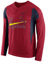 Nike Men's St. Louis Cardinals Long-Sleeve Windshirt