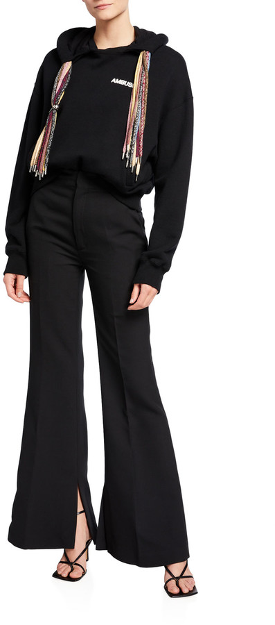 Thumbnail for your product : Ambush High-Waist Flare Pants