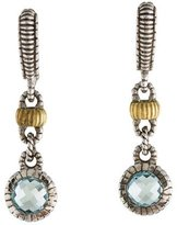 Judith Ripka Topaz Drop Earrings
