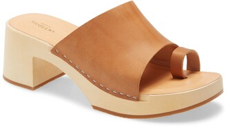 Swedish Hasbeens Toe Strap Slide Sandal