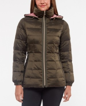 Kate Spade Hooded Down Puffer Coat