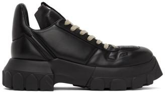 Rick Owens Black Maximal Tractor Sneakers