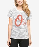 '47 Baltimore Orioles MLB Women's Sparkle Stripe T-Shirt