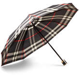 Burberry Checked Collapsible Umbrella