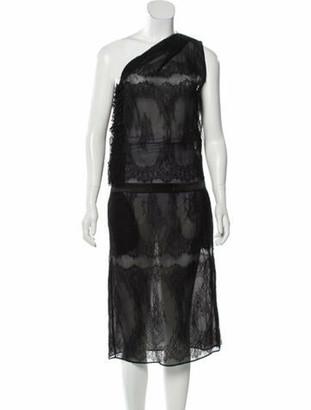 No.21 2018 Silk Dress w/ Tags Black