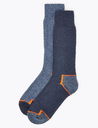 Marks and Spencer 2 Pack Freshfeet Heavyweight Workwear Socks