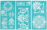 Martha Stewart Large Stencils 3/pkg-tapestry 8.75x16.75 11 Designs, Pk 1