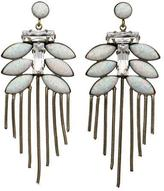 Lionette Tahiti Earrings White