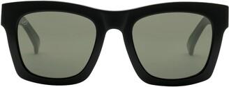 ELECTRIC Crasher 54mm Polarized Square Sunglasses