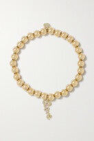 Thumbnail for your product : Sydney Evan Small Love 14-karat Gold Diamond Bracelet - one size