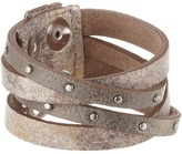 Leather Rock B453 Bracelet