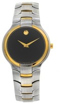 Movado Portico 81 G1 1894 Stainless Steel & 18K Yellow Gold 34mm Watch
