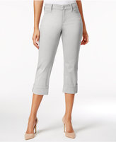 NYDJ Dayla Tummy-Control Cuffed Capri Jeans