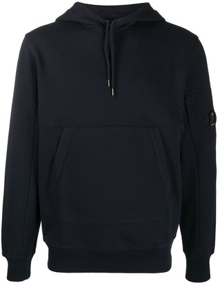 C.P. Company Lens embellished cotton hoodie
