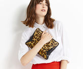 Oasis Leopard Pony Dex Clutch