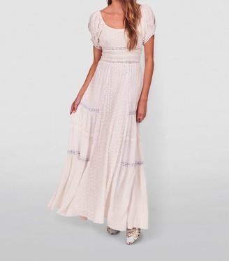 LoveShackFancy Jessie Broderie Anglaise Maxi Dress