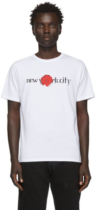 Saturdays NYC White NYC Moonflower T-Shirt