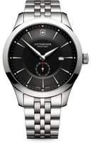 Victorinox Alliance Sterling Silver Analog Bracelet Watch