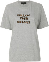 Markus Lupfer Alex 'Follow Your Dreams' T-shirt - women - Cotton/Viscose - S