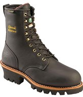 "Chippewa Women's 8"" Waterproof Insulated Steel Toe EH L73050 Logger Boot"
