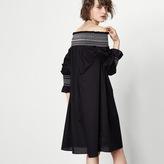 Maje Short dress with smocking