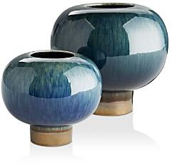 Arteriors Tuttle Vases, Set of 2