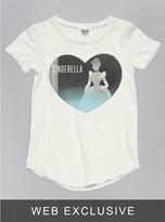 Junk Food Clothing Kids Girls Cinderella Tee-sugar-l