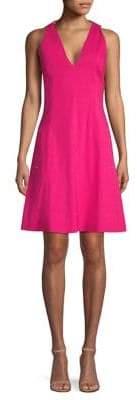 Elie Tahari Selene Fit-&-Flare Dress