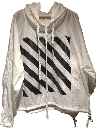 Off-White White Synthetic Jackets