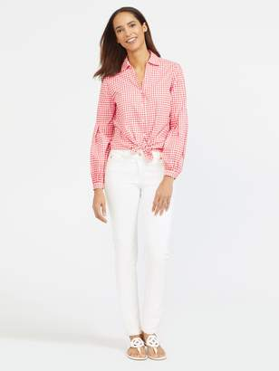 Vickie Blouse in Gingham