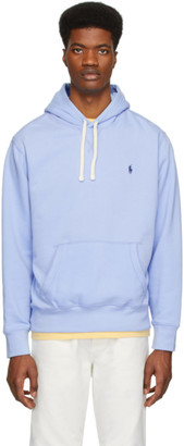 Polo Ralph Lauren Blue Fleece Hoodie