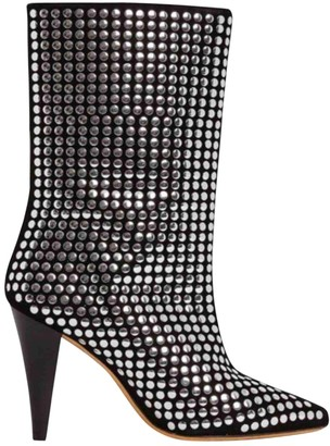 IRO Fall Winter 2019 Black Suede Boots