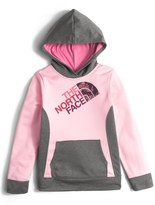The North Face 'Surgent' Fleece Pullover Hoodie (Big Girls)