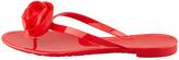 Valentino Rose Flip-Flop Sandal, Rosso
