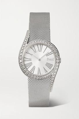 Piaget Limelight Gala 32mm 18-karat White Gold And Diamond Watch