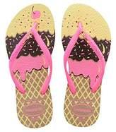 Havaianas SLIM POP, Girls' Flip Flops,7 Child UK (23/24 Brazilian) (25/26 EU)