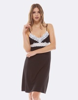 Deshabille Essential Night Dress Black