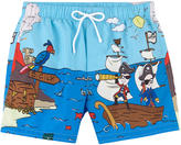 Dolce & Gabbana Graphic swim shorts Stefano & Domenico