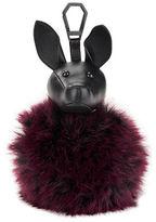 KENDALL + KYLIE Bambi Dog Faux Fur Purse Charm
