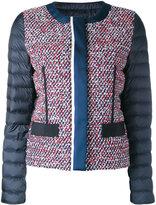 Moncler padded sleeve Bouclé jacket - women - Polyamide - 3