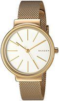 Skagen Women's SKW2477 Ancher Gold Mesh Watch