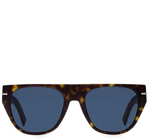 Christian Dior 53MM Tortoiseshell Round Sunglasses